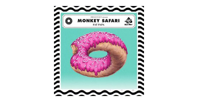 Monkey Safari Donut