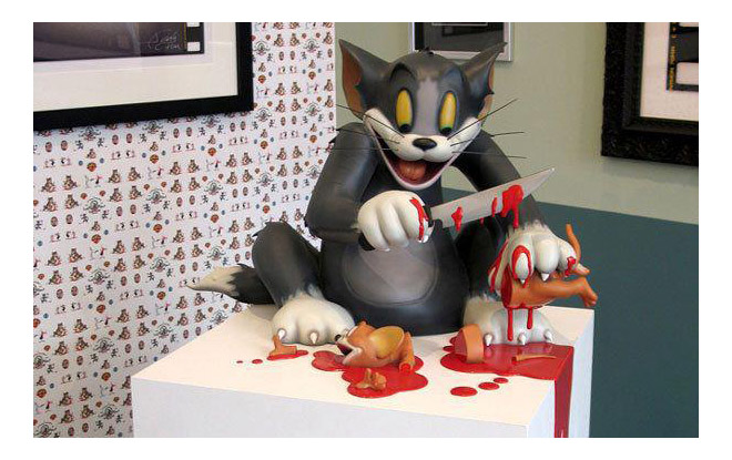Tom and Jerry gore